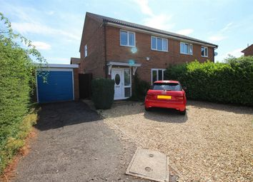 Thumbnail 3 bed semi-detached house for sale in De Ramsey Court, School Road, Warboys, Huntingdon