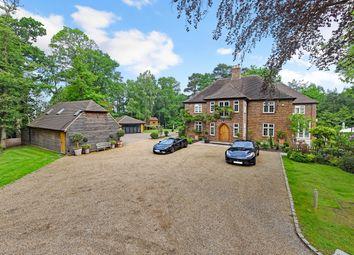 Thumbnail 8 bed detached house for sale in Longdown Road, Lower Bourne, Farnham