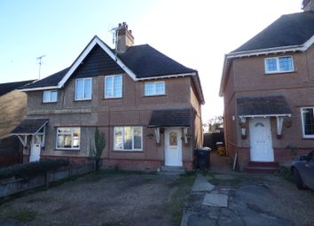Thumbnail 2 bedroom semi-detached house to rent in Laceys Lane, Exning, Newmarket, Suffolk