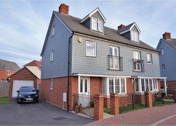 Thumbnail 3 bed semi-detached house for sale in Coleridge Crescent, Littlehampton