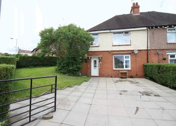 Thumbnail 3 bed semi-detached house for sale in Burton Street, Leek, Staffordshire