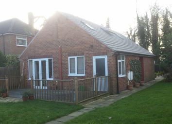 Thumbnail 3 bed detached bungalow for sale in Burton Road, Lincoln
