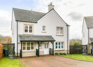 Thumbnail 4 bed detached house for sale in Hoggan Way, Loanhead