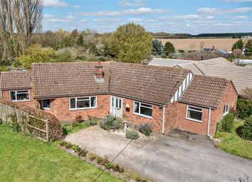 Thumbnail 4 bed detached bungalow for sale in Main Road, Wood Enderby, Lincs