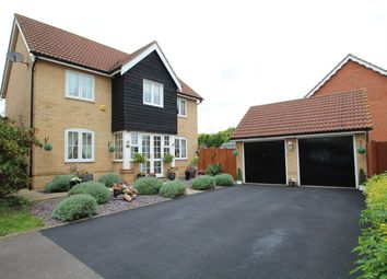 Thumbnail 4 bedroom detached house for sale in Swallow Drive, Stowmarket
