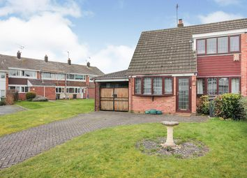 Sunningdale Close, Nuneaton, Warwickshire CV11. 3 bed semi-detached house for sale