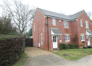 Thumbnail 2 bed semi-detached house for sale in Woolton Lodge Gardens, Woolton Hill, Newbury