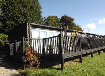 Thumbnail 2 bed bungalow for sale in Upper Lakeside, Glan Gwna Holiday Park, Caeathro, Gwynedd