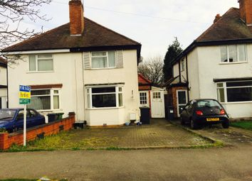 Thumbnail 2 bed semi-detached house for sale in Lincoln Road North, Acocks Green, Birmingham