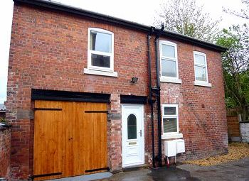 Thumbnail 2 bed detached house to rent in Wheelock Street, Middlewich, Cheshire
