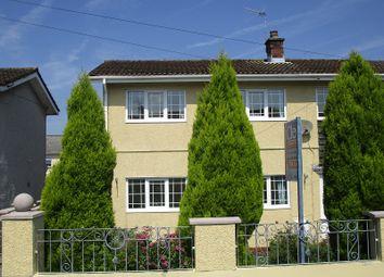 Thumbnail 3 bedroom semi-detached house for sale in Dolfain, Ystradgynlais, Swansea.