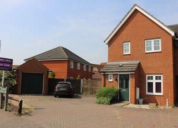 Thumbnail 2 bed link-detached house for sale in Mountbatten Drive, Norwich
