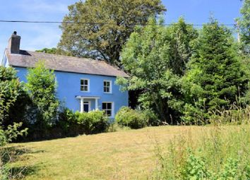 Thumbnail 6 bed farmhouse for sale in Llangeler, Llandysul, Carmarthenshire