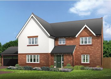 "Thumbnail 5 bed detached house for sale in ""Halstead"" at Common Lane, Lach Dennis, Northwich"