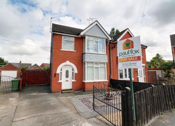 Thumbnail 3 bed semi-detached house for sale in Maple Tree Close East, Scunthorpe
