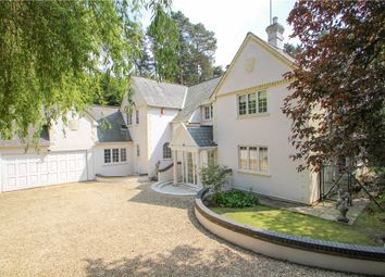 Thumbnail 5 bedroom detached house for sale in Tekels Park, Camberley, Surrey