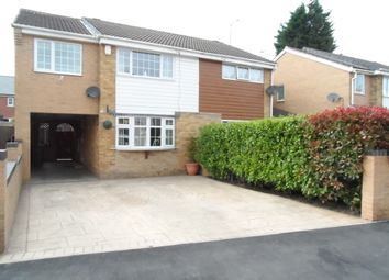Thumbnail 4 bed semi-detached house for sale in Carr Lane, South Kirkby, Pontefract