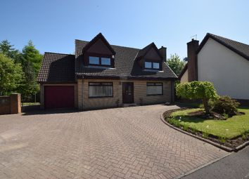 Thumbnail 4 bed detached house for sale in Willow Gardens, Irvine, North Ayrshire