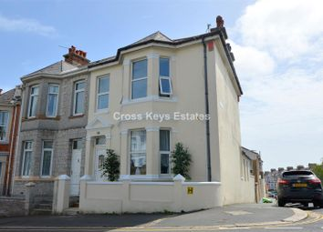 Thumbnail 4 bed end terrace house for sale in Lipson Road, Lipson, Plymouth