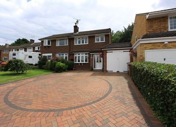 Thumbnail 4 bed semi-detached house for sale in Manor House Gardens, Abbots Langley, Hertfordshire