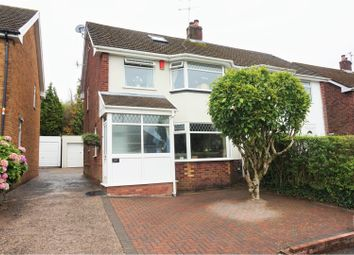 Thumbnail 3 bed semi-detached house for sale in Huron Crescent, Cardiff