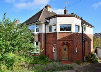 Thumbnail 3 bed semi-detached house for sale in Overhill Drive, Brighton, East Sussex