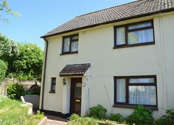 Thumbnail 3 bed semi-detached house for sale in Oak Close, Silverton, Exeter