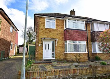 Thumbnail 3 bed semi-detached house for sale in Mermerus Gardens, Gravesend