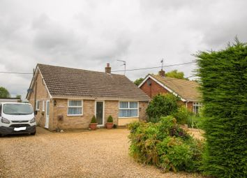 Thumbnail 3 bed detached bungalow for sale in Hill Road, King's Lynn