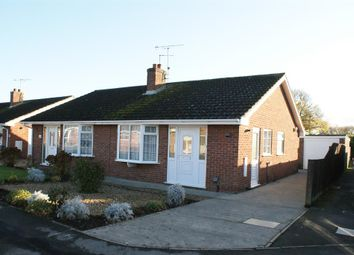Thumbnail 2 bedroom semi-detached bungalow for sale in Hornsey Garth, Wigginton, York