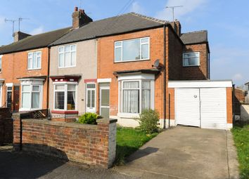 Thumbnail 2 bed end terrace house for sale in Sutton Hall Road, Bolsover, Chesterfield