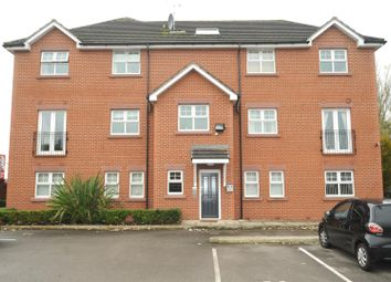 Thumbnail 1 bed flat for sale in Kingsway South, Latchford, Warrington