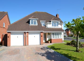 Thumbnail 4 bed detached house for sale in Coppice Drive, Newport