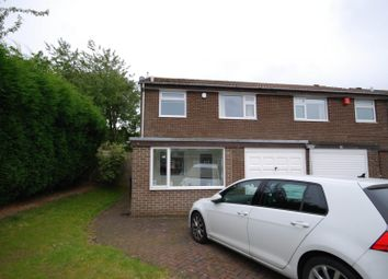 Thumbnail 3 bed semi-detached house for sale in Dymock Court, Newcastle Upon Tyne