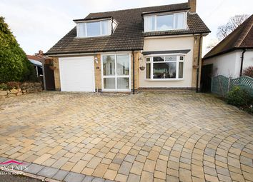 Thumbnail 3 bed detached house for sale in Ashleigh Road, Glenfield, Leicester
