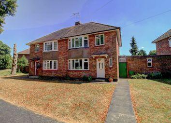 Thumbnail 3 bedroom semi-detached house for sale in Chestnut Crescent, Bletchley, Milton Keynes