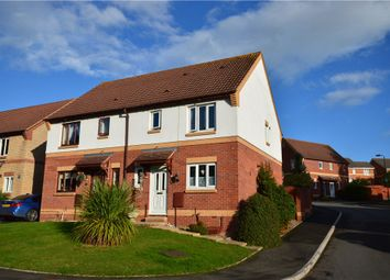 Thumbnail 3 bed semi-detached house to rent in Wordsworth Close, Exmouth, Devon