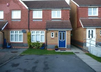Thumbnail 3 bed property to rent in Lulworth Close, Crawley