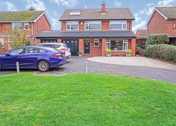 Thumbnail 4 bed detached house for sale in Gravelly Lane, Southwell