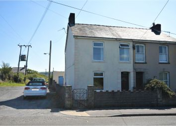 Thumbnail 3 bed semi-detached house for sale in Carway., Kidwelly.
