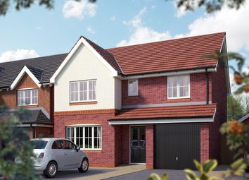 "Thumbnail 4 bed detached house for sale in ""The Lincoln"" at Weights Lane Business Park, Weights Lane, Redditch"
