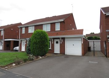 Thumbnail 3 bedroom semi-detached house to rent in Stagborough Way, Hednesford, Cannock