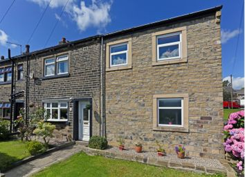 Thumbnail 4 bed end terrace house for sale in Moor Bottom Road, Holmfield