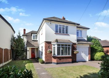Thumbnail 4 bed detached house for sale in Links Avenue, Gidea Park, Romford