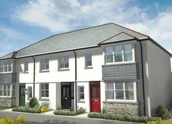 Thumbnail 2 bed terraced house for sale in Habbacott Rise, Cornwall