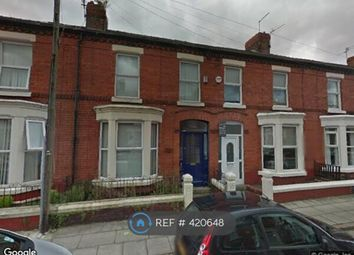 Thumbnail 4 bed terraced house to rent in Crawford Avenue, Mossley Hill, Liverpool