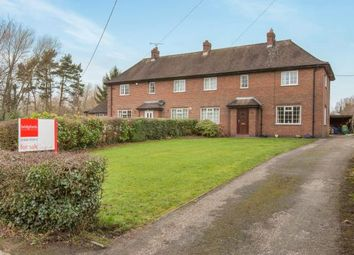 Thumbnail 3 bed semi-detached house for sale in Woodford Hall Cottages, Woodford Lane West, Winsford, Cheshire