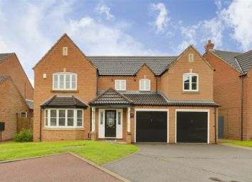 Thumbnail 6 bed detached house for sale in Maple Drive, Mansfield, Nottinghamshire