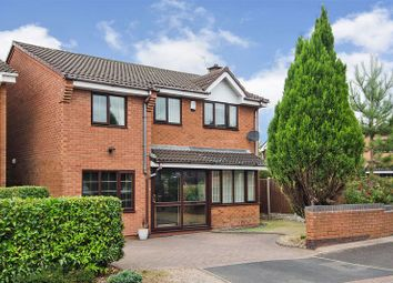 Thumbnail 4 bed detached house for sale in Ingestre Close, Heath Hayes, Cannock