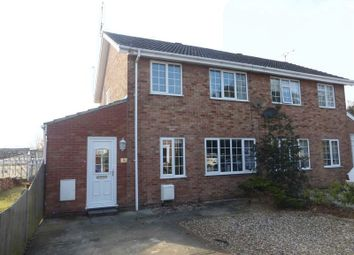 Thumbnail 3 bed semi-detached house for sale in Fellowes Drive, Bradwell, Great Yarmouth